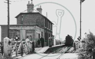 Marston Gate Railway Station
