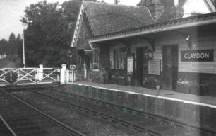 Claydon Railway Station
