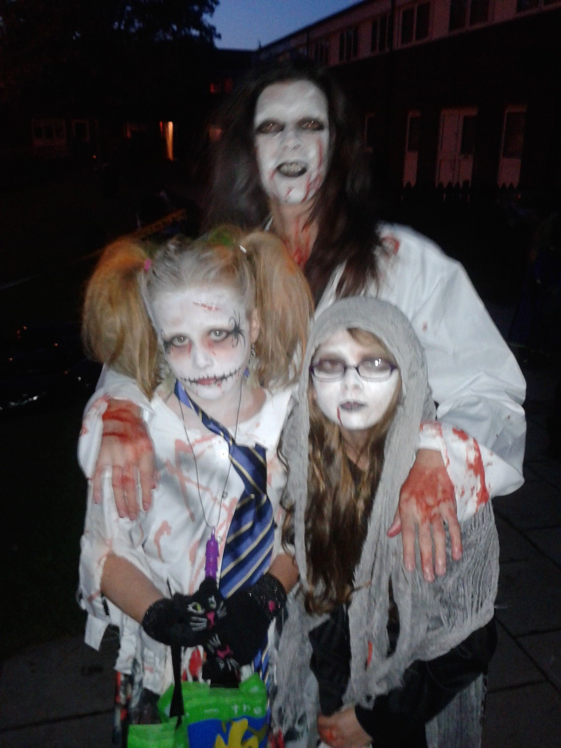 photo of the zombies