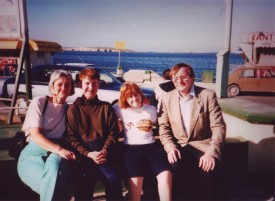 Our family on holiday in Malta