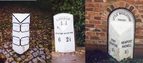 Three other examples of mileposts in this area