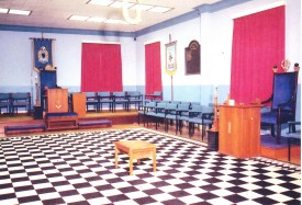 Bletchley Lodge Room