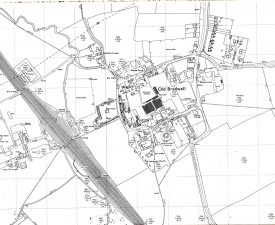 An old map of Bradwell Village