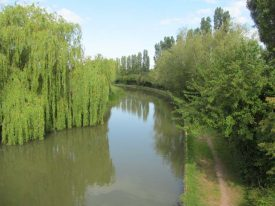A view of The Grand Union Canal