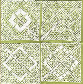 Colour image of Lace samples
