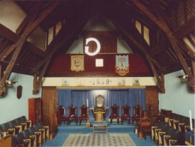 Stony Stratford Lodge Room