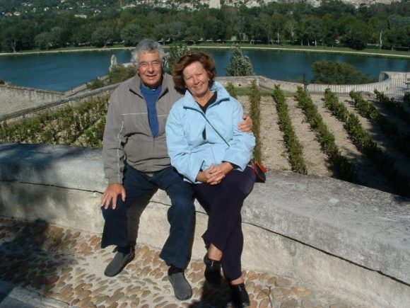 Tim and Theresea in France Sept 2005