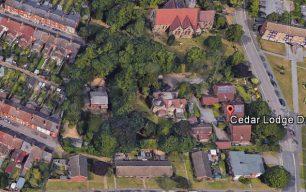 Development around the Wolverton Vicarage - Lynn