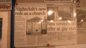 Church takes over nightclub