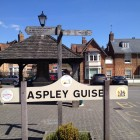 The center of The Square, Aspley Guise