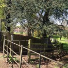 Public footpath alongside Guise House