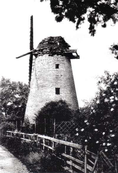 Bradwell windmill falling into decay