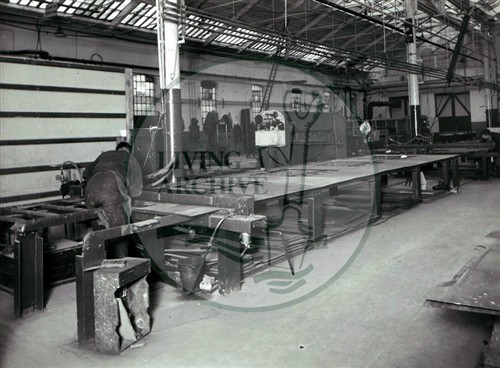 Interior of the Wolverton Works (Accession Ref: PSL/P/014a).