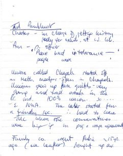 Notes compiled by Ted Pankhurst about Wolverton Works and the railways.