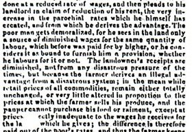 Northampton Mercury - Extracts from letters from the Duke of Buckingham and Chandos about agricultural distress (1830).