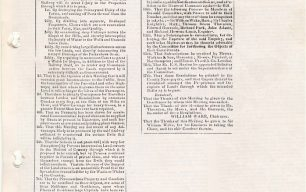 Northampton Mercury - Meeting of landowner's opposed to the proposed railway and the railway's reply (1830).