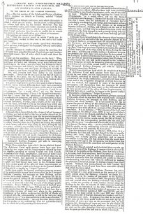 Glasgow Chronicle - Letter to the editor regarding the speed of canal transport (1832).