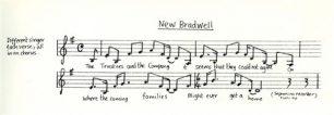 All Change 'New Bradwell' music and lyrics (Act 2 - Sc.5).