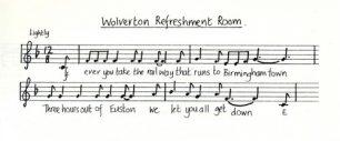 All Change 'Wolverton Refreshment Room' music and lyrics (Act 1 - Sc.14).