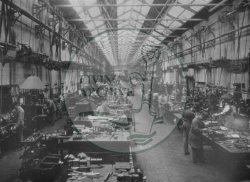 Wolverton Works,Tool Room 1925 (Accession Ref: WOW/S/102).