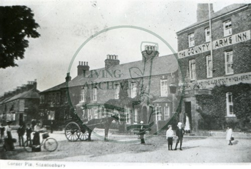 The County Arms Inn New Bradwell c.1910 (Accession Ref: XBS/P/032).