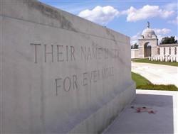 Colour photograph of a memorial