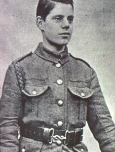 Photograph of Albert French in Uniform