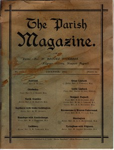 The Parish Magazine, Newport Pagnell issue no.276 (December 1914)