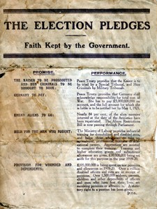 The Election Pledges: Faith Kept by the Government