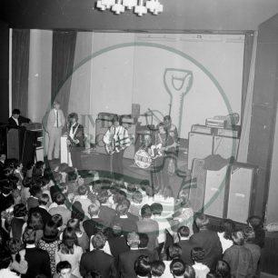 The Tremeloes at Wilton Hall. Illustrative photograph supplied by kind permission of BCHI (Accession Ref. EIB P025 LG 1620).