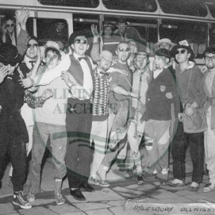 Bletchley Youth off for an evening of Jazz in Aylesbury, 1961. Illustrative photograph supplied by kind permission of BCHI (Accession Ref. 1891).