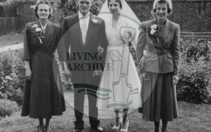Interview with Bob Bunn (b.1934) about his washing machine business and mobile greengrocers, playing golf and networking in Bletchley.