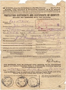Certificate of Identity