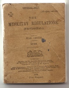 The Musketry Regulations Book