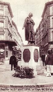 Monument of Gabrielle Petit