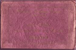 Souvenir envelope cover