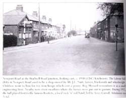 Photograph of Newport Road