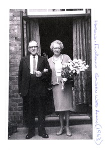 Photograph of Harold and Florence Nutt