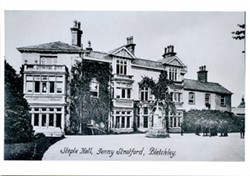 Collection of photographs and postcards relating to Staple Hall, Fenny Stratford