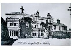 Postcard of Staple Hall