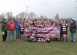 Bletchley Ladies RFC - Champions  of the National Challenge South East North 2 League  2014-2015