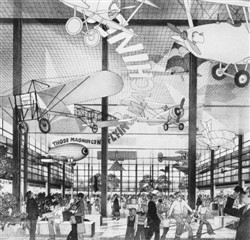 Image 8. A 'covered piazza' (The Plan for Milton Keynes, March 1970)