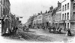 Stony Stratford High Street 1882