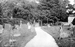 Photograph of a cemetary