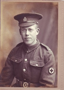 Photograph of Lewis Lloyd in uniform.