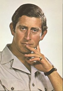 Profile portrait of The Prince of Wales
