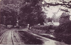 Postcard of The Lodge Wolverton