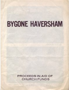 Leaflet of Bygone Haversham