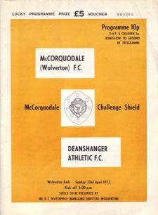 Challenge Shield Programme