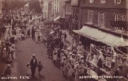 Postcard of Hospital Fete, Newport Pagnell